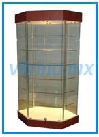 Vitrinas de pared vitrinas vidrio vitrinas cristal - Vitrina cristal ikea ...